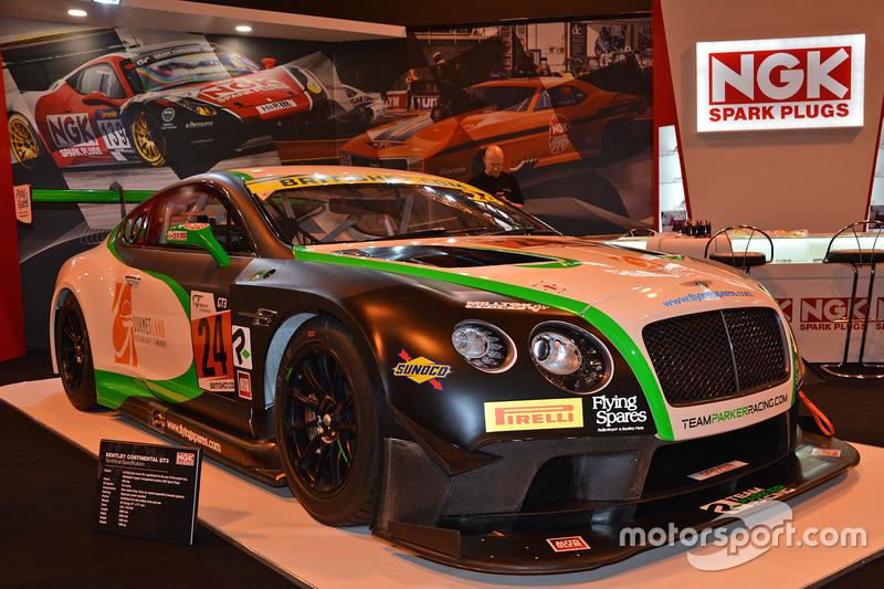 Bentley Continental GT3 staat er ook mooi bij