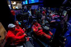 Lucas Di Grassi, ABT Schaeffler Audi Sport Y Daniel Abt, ABT Schaeffler Audi Sport veN A su compañer