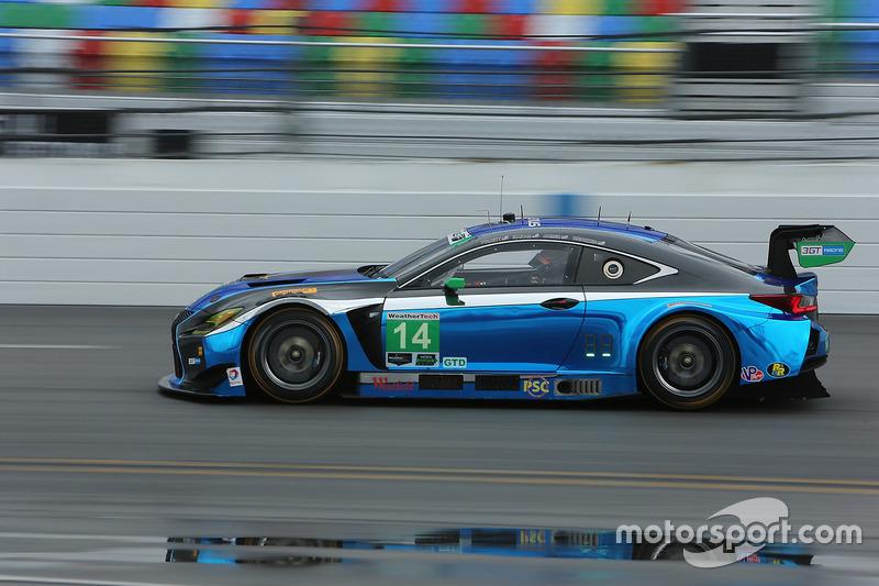 #14 3GT Racing Lexus RCF GT3: Scott Pruett, Ian James, Gustavo Menezes
