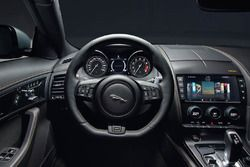 Jaguar F-Type 400 Sport Steering wheel