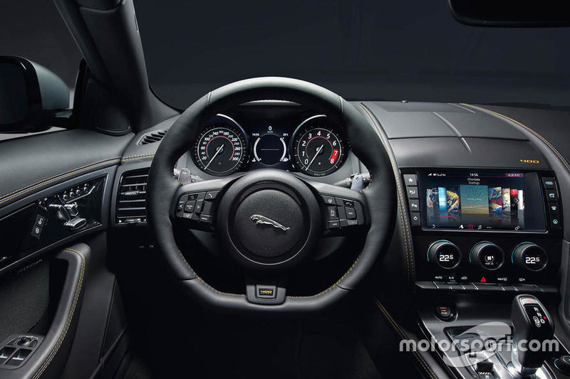 Lenkrad: Jaguar F-Type 400 Sport