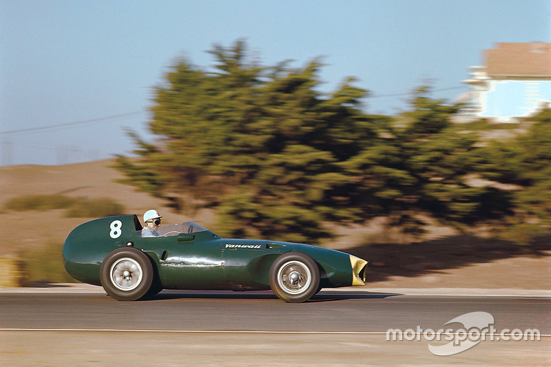 Stirling Moss, Vanwall, GP de Marruecos de 1958