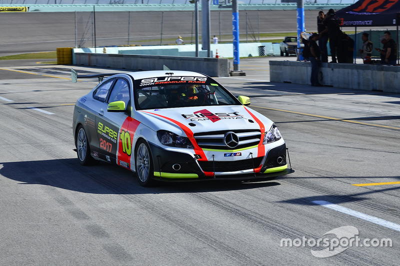 #10 MP2B Mercedes C350 driven by Nicolas Collazo & David Tuaty of TLM USA