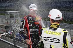 Ландо Норрис, Carlin Dallara F317 - Volkswagen и Джоэль Эрикссон, Motopark Dallara F317 - Volkswagen