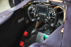 Cockpit of Pierre Gasly, Team Mugen car