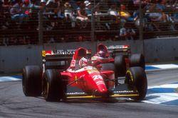Gerhard Berger, Ferrari F93A ve Jean Alesi, Ferrari F93A
