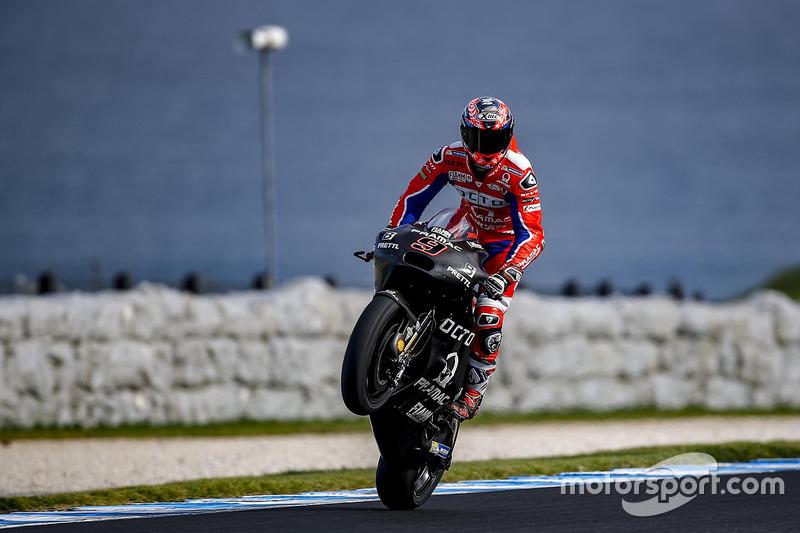 14º Danilo Petrucci (Pramac Racing) 1:29.615, a 1.066s