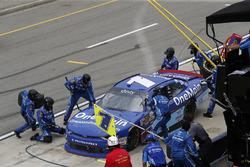 Джастин Алгайер, JR Motorsports Chevrolet на пит-стопе