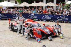 №23 Panis-Barthez Competition Ligier JS P217 Gibson: Фабьен Бартез, Тимотэ Бурэ, Натанаэль Бертон