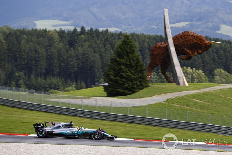 Gewinner: Lewis Hamilton (Mercedes)