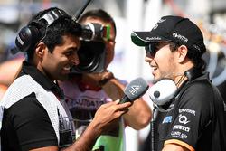 Sergio Perez, Sahara Force India, Karun Chandhok