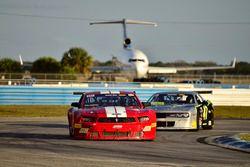 #10 TA2 Ford Mustang, Carlo Falcone, Antigua Pro Racing, #47 TA2 Dodge Challenger, AJ Henricksen, ECC Motorsports