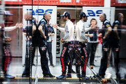 Franz Tost, Scuderia Toro Rosso Director del equipo con Carlos Sainz Jr., Scuderia Toro Rosso