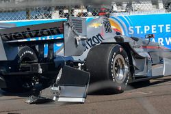 Will Power, Team Penske Chevrolet, kaza