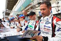 James Allen, Franck Matelli, Richard Bradley, Graff Racing