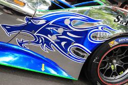 #60 Clearwater Racing Ferrari 488 GTE detalle