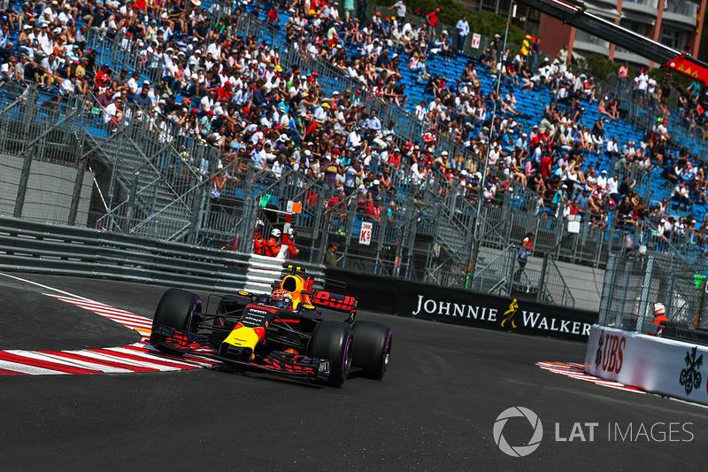 Formule 1 Liveblog: GP Monaco - Raikkonen leidt, Verstappen P4