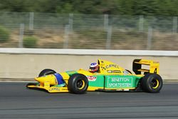 La Benetton B192 de Michael Schumacher