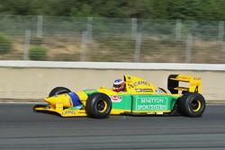 La Benetton B192 de Michael Schumacher