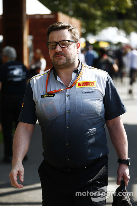 Paul Hembrey, Direktor, Pirelli Motorsport