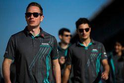 Adam Carroll, Jaguar Racing e Mitch Evans, Jaguar Racing