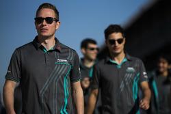 Adam Carroll, Jaguar Racing and Mitch Evans, Jaguar Racing