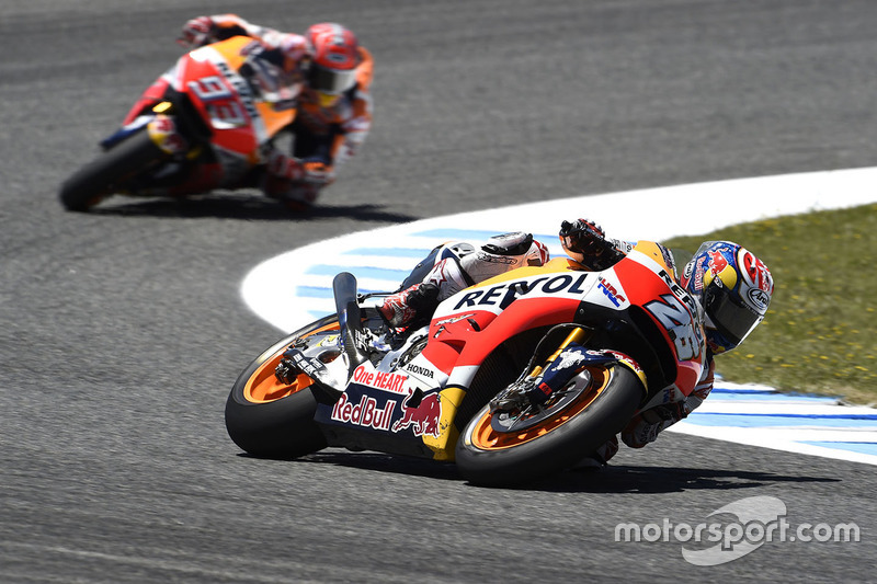 Pedrosa and Marc Marquez, Repsol Honda Team