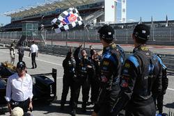 Race winners Jordan Taylor, Ricky Taylor, Wayne Taylor Racing