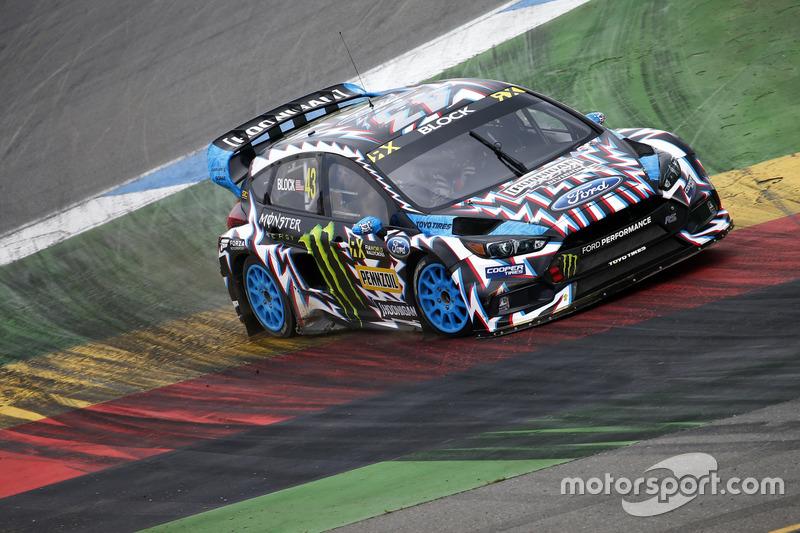 Ken Block, Hoonigan Racing Division, Ford Focus RSRX at Hockenheim