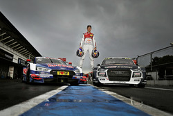 Mattias Ekström, Audi Sport Team Abt Sportsline, avec son Audi A5 DTM et son Audi S1 WRX quattro