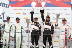 Rick Parfitt Jr., Seb Morris, Team Parker Racing Bentley Continental GT3 and Duncan Cameron, Matt Gr