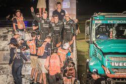 #500 Team De Rooy, IVECO: Gerard De Rooy, Moises Torrallardona, Darek Rodewald