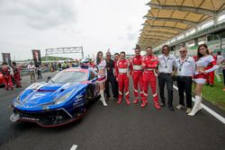 #75 T2 Motorsports Ferrari 488 GT3: Gregory Teo Bee Tat, David Tjiptobiantoro, Christian Colombo