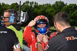 Il vincitore della gara, Andrea Montermini, TR3 Racing
