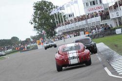 Royal Automobile Club TT Celebration chicane action