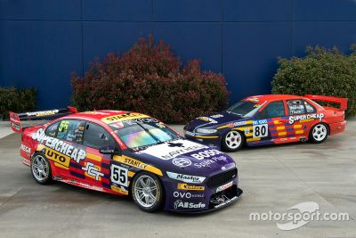 Rod Nash Racing retro livery