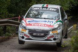 Nicola Manfredi, Jasmine Manfredi, Peugeot 208 R2B