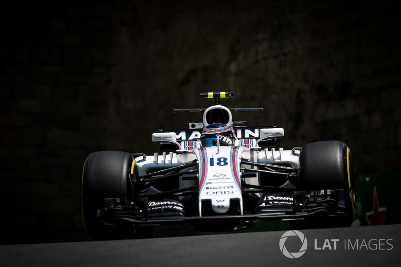 8. Lance Stroll, Williams FW40