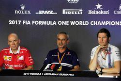 Jock Clear, Ferrari, Rob Smedley, Williams, Beat Zehnderm, Sauber