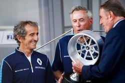 Alain Prost, Renault e.Dams; Jean Paul Driot, Renault e.Dams