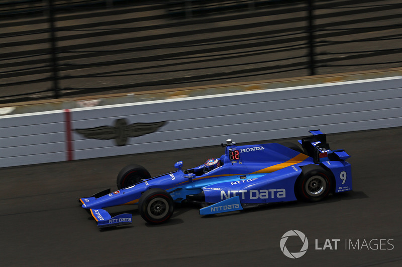 1: Скотт Диксон, Chip Ganassi Racing Teams Honda