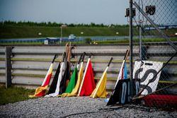 Flaggen für Streckenposten