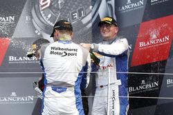Podium: #36 Walkenhorst Motorsport, BMW M6 GT3: Henry Walkenhorst, Matias Henkola, David Schiwietz