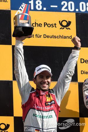 Podio: Mike Rockenfeller, Audi Sport Team Phoenix, Audi RS 5 DTM