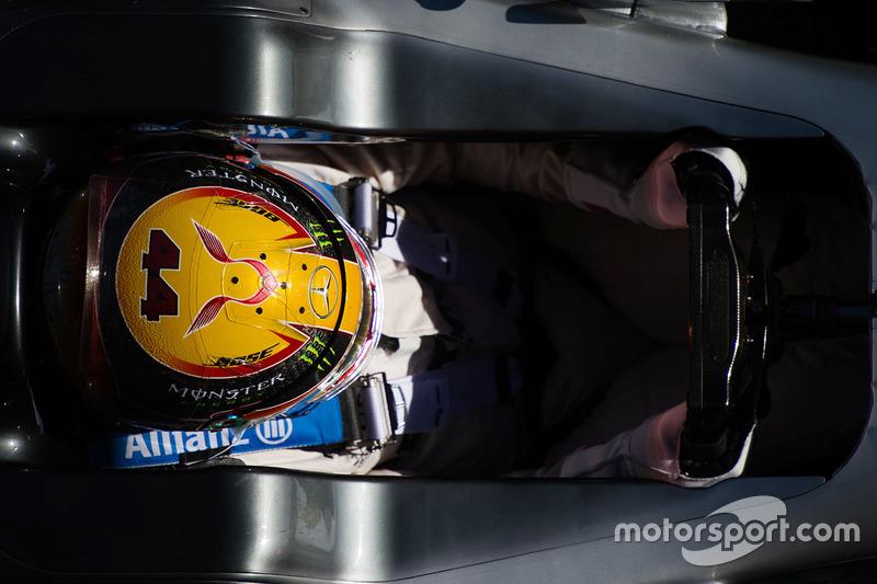 Mercredi : Lewis Hamilton, Mercedes