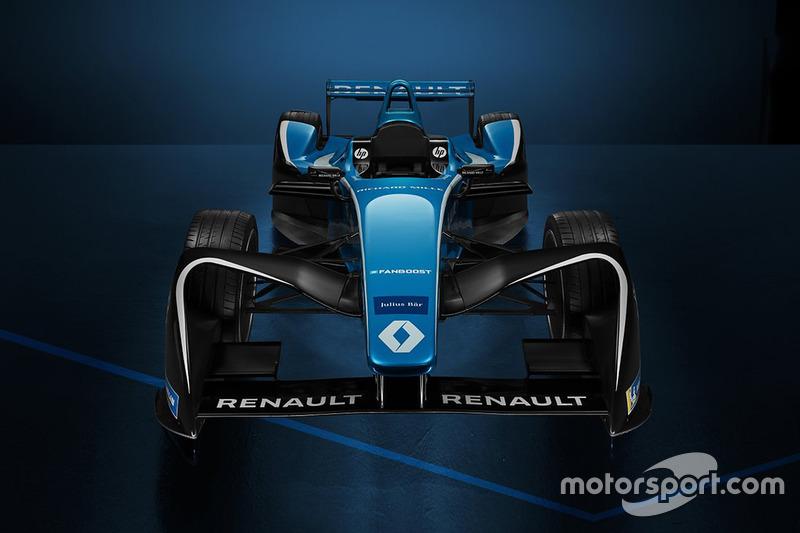 Motif baru Renault e.dams