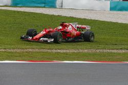 Sebastian Vettel, Ferrari SF70H sort large