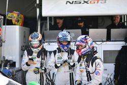 Katherine Legge, Mark Wilkins, Graham Rahal, Michael Shank Racing