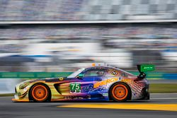 #75 SunEnergy1 Racing Mercedes AMG GT3: Boris Said, Tristan Vautier, Kenny Habul, Maro Engel