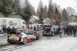 Jari-Matti Latvala, Miikka Anttila, Toyota Yaris WRC, Toyota Racing, Ott Tänak, Martin Järveoja, For